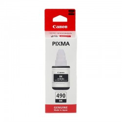 Canon GI-490BK Orjinal Siyah Mürekkep (G1400-G2400-G3400)