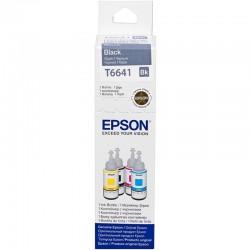 Epson T6641 Orjinal Siyah Mürekkep (L100-200-120-L1300-L110-L300-L455) (70ml)