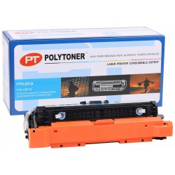 HP CE251A (504A) Polytoner Mavi Toner CP3525-CM3530 Canon (CRG 723) LBP 7700