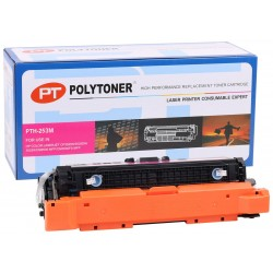 HP CE253A (504A) Polytoner Kırmızı CP3525-CM3530 Canon (CRG 723)  LBP 7700