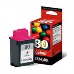 Lexmark (80) 12A1980E Orijinal Color Kartuş (3200/5000/5700/7200 Series)