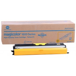Minolta 1600W Orjinal Sarı Toner 1650EN-1680-1690MF (A0V306H) (2.500 Sayfa)