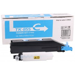 Kyocera Mita TK-855 Orjinal Mavi Toner Taskalfa 400ci-500ci-552ci