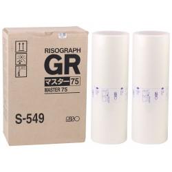 Riso (S-549) Orjinal B4 Master GR-1700-1750-2700-2710-2750-3710(Adet fiyatıdır)
