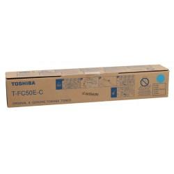 Toshiba T-FC50E-C Orjinal Mavi Toner E-Studio 2555c-3055c-3555c-5055c (33.6k)